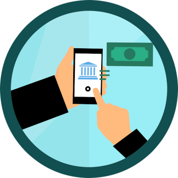 Mobile banking software