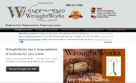 Ecommerce Web Development Wrought Iron