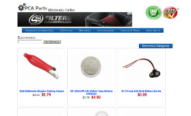 Ecommmerce Electronics Website Development