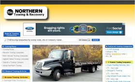 Towing Company Web Development