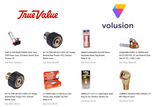 Import Volusion Ecommerce Store Products From Supplier