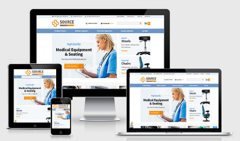 Medical Equipment website development